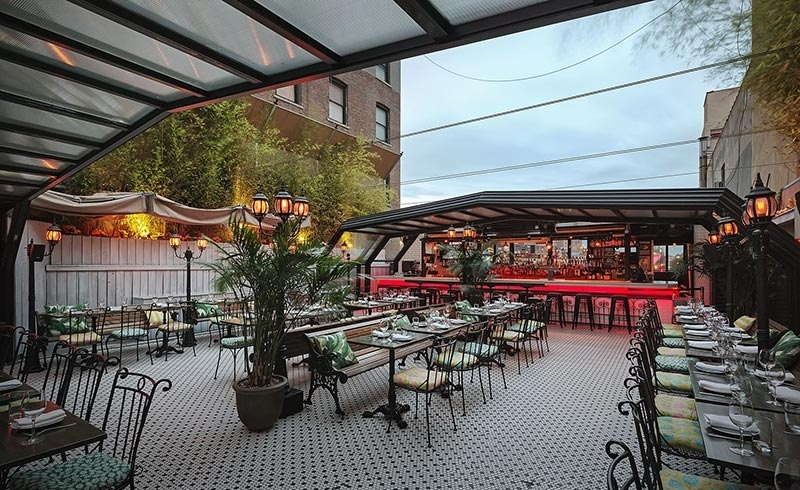 outdoor bars - hotel chantelle