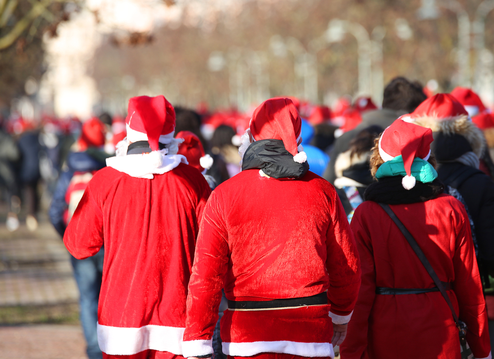 What to Do in New York December 2017 – SantaSuit 5k