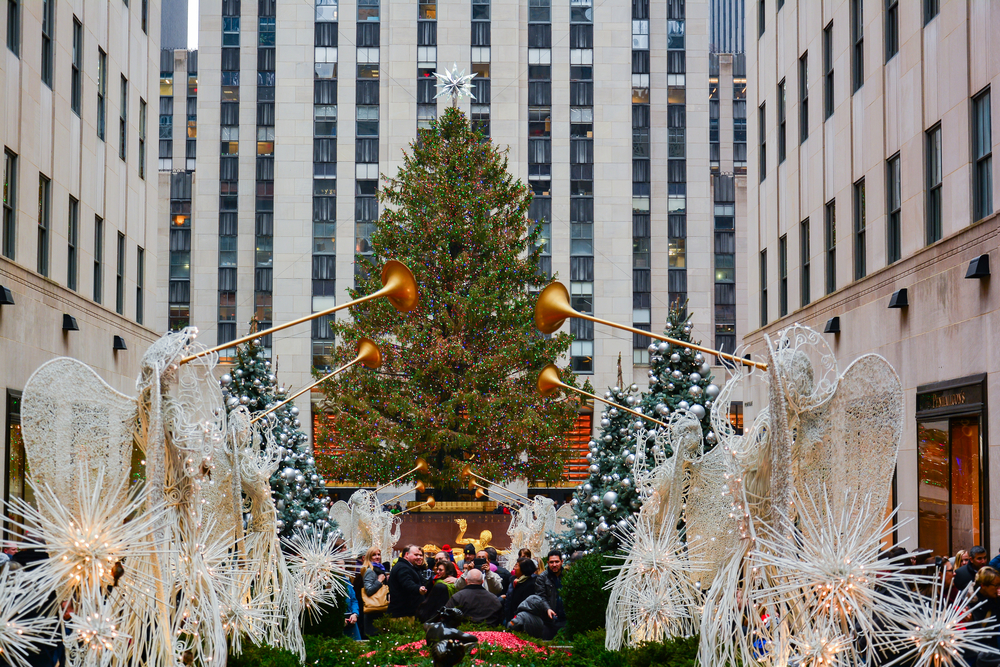 Rockefeller Center Tree Lighting