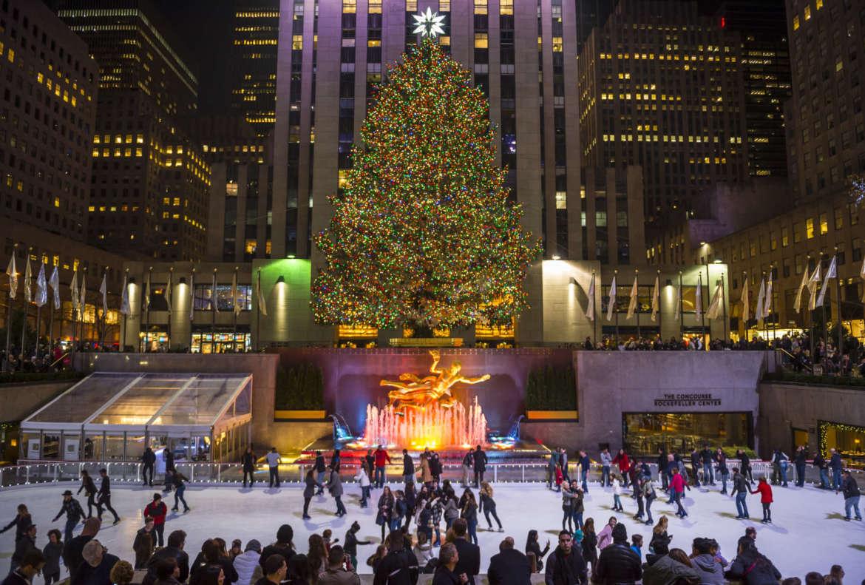 Lighting Of Rockefeller Christmas Tree.The Rockefeller Center Tree Lighting Is Just Weeks Away