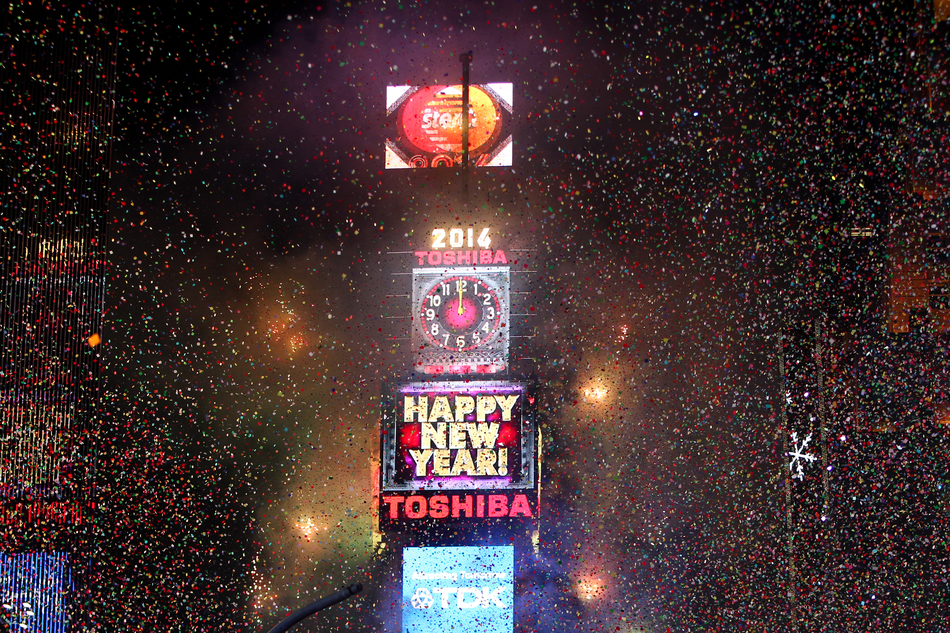 Times Square New Year' Eve