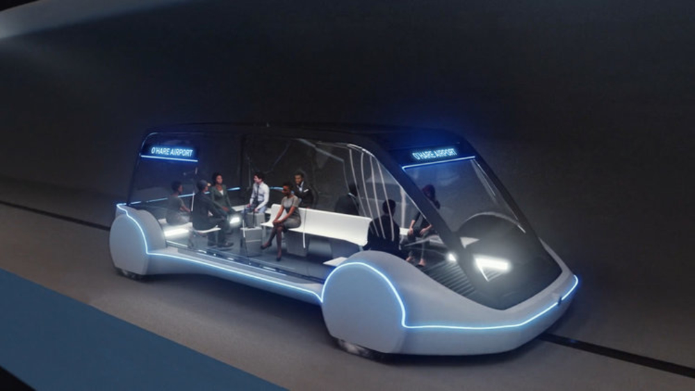 Elon Musk's The Boring Company High Speed Transportation Chicago