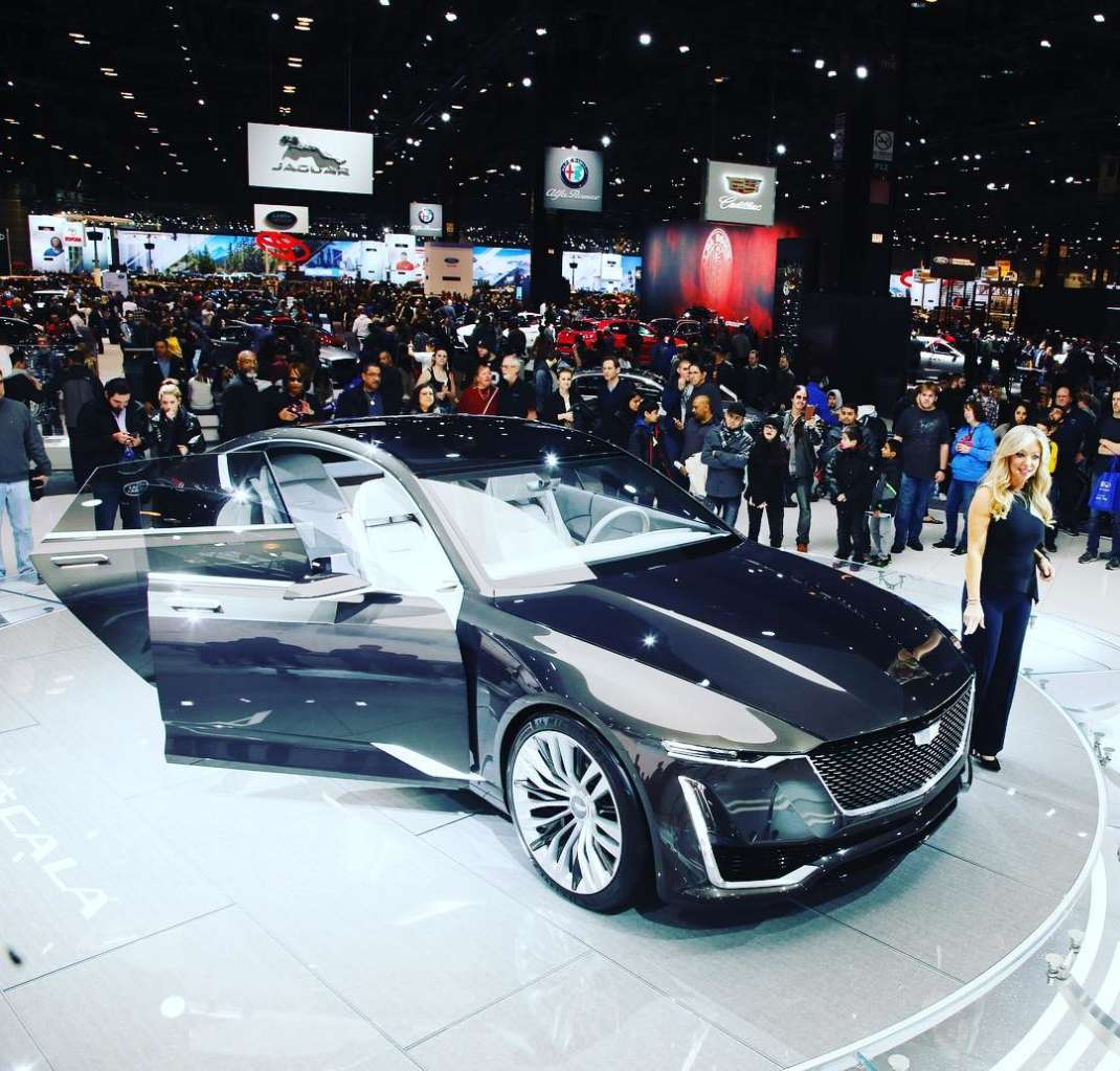 Photo Credit: Chicago Auto Show Instagram