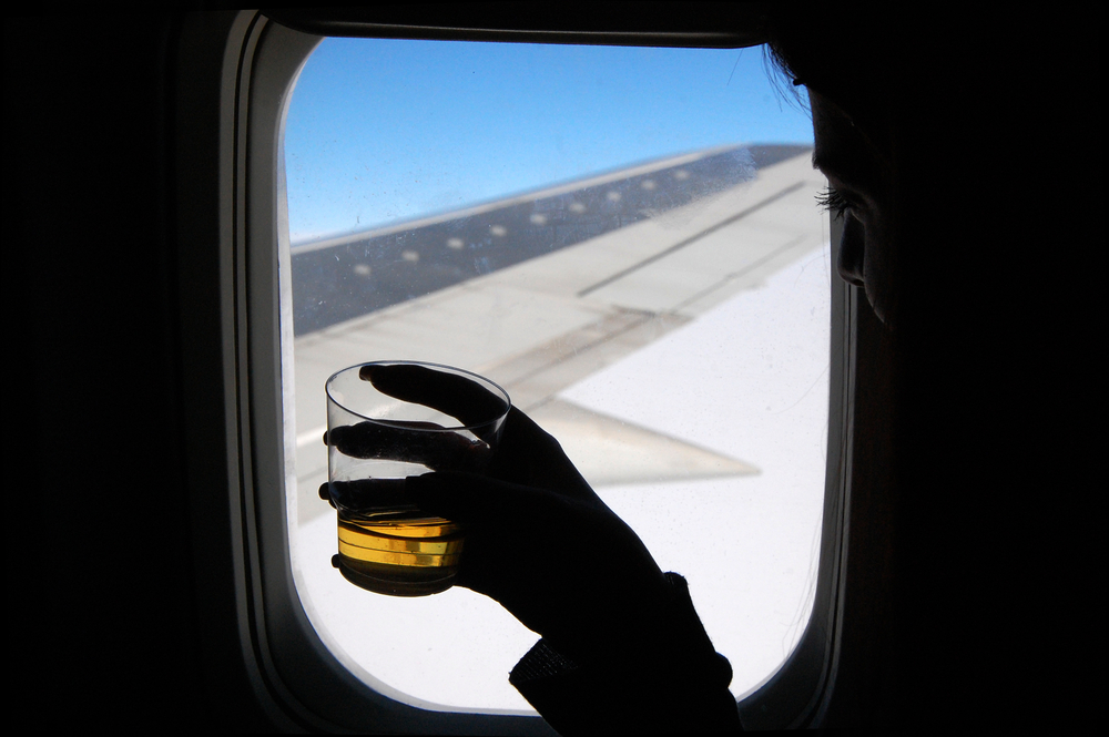 American Airlines Free Drinks