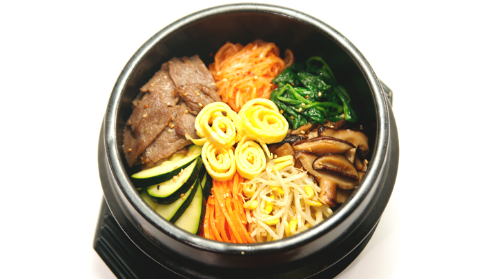 Winter Olympics Korean Food