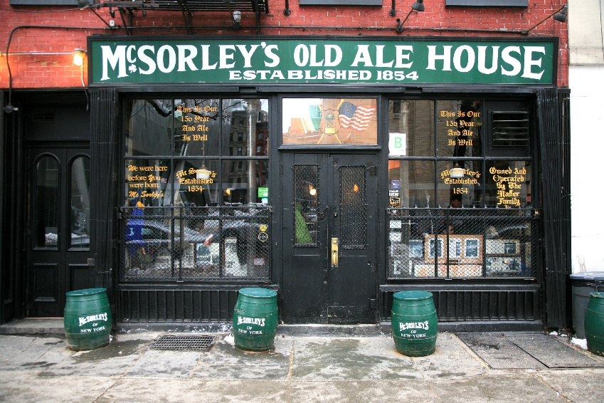 irish pubs nyc