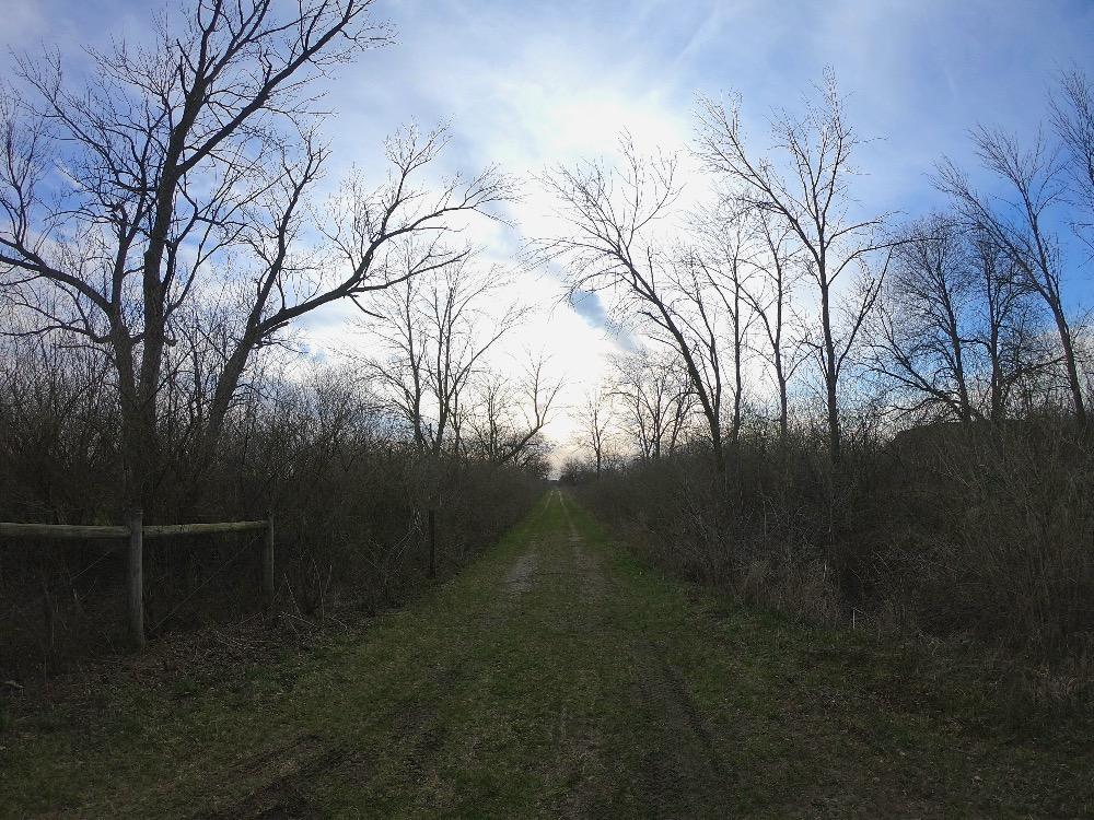 Midewin hiking trails