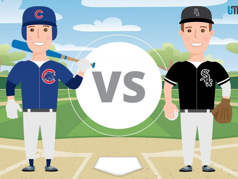 Cubs vs Sox Infographic