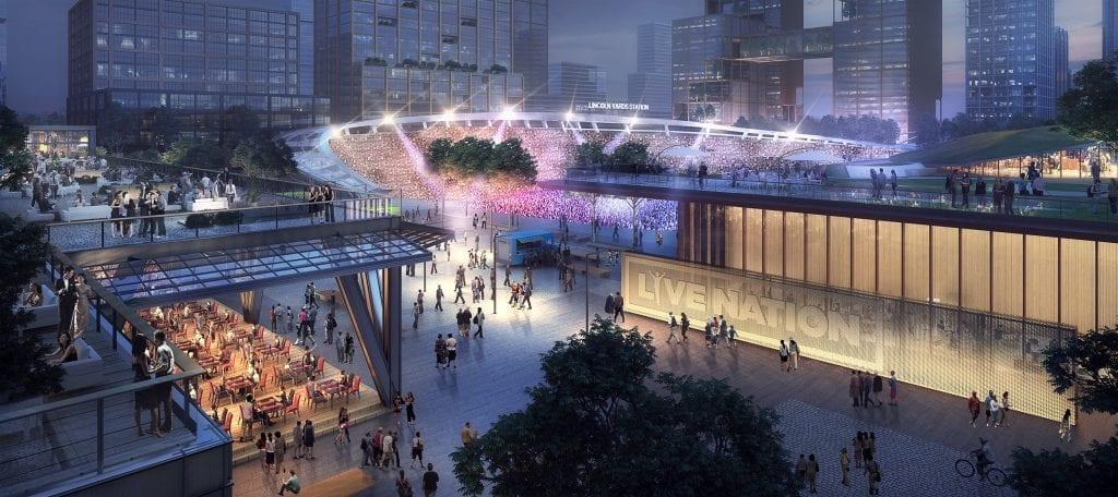 Lincoln Yards Live Nation Concert Venues