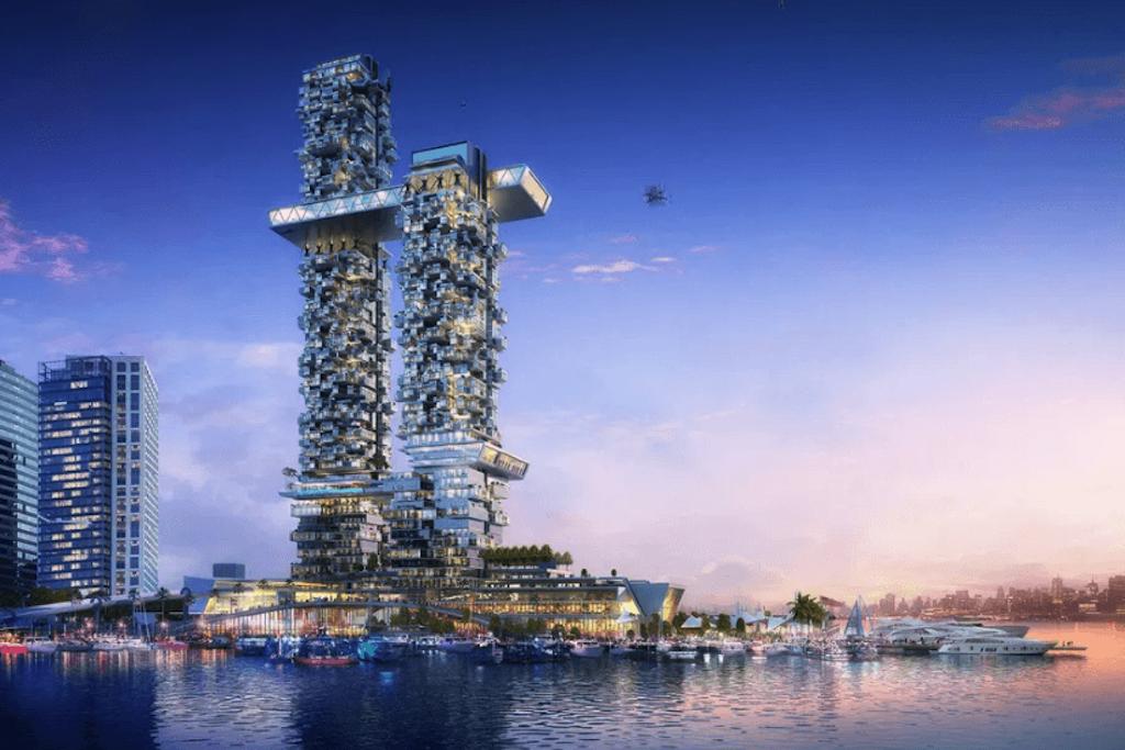 New Futuristic Building NYC