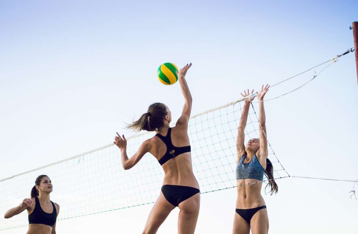 Volleywood Electric Beach
