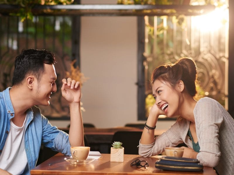 Image result for First date conversation