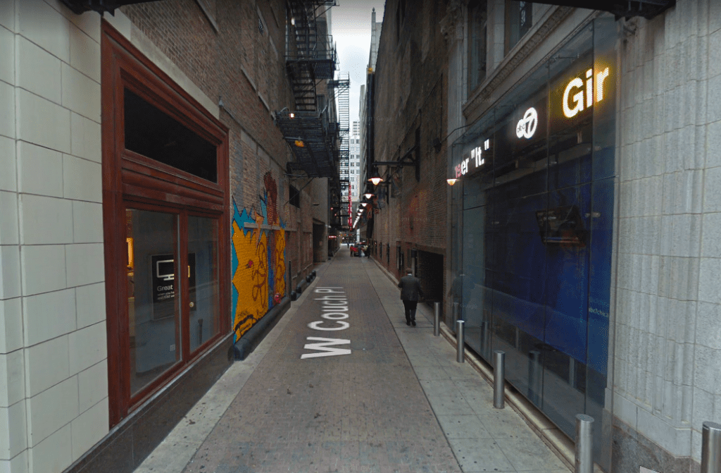 Couch Place Alley