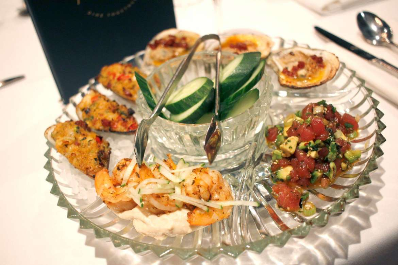 Seafood Lazy Susan