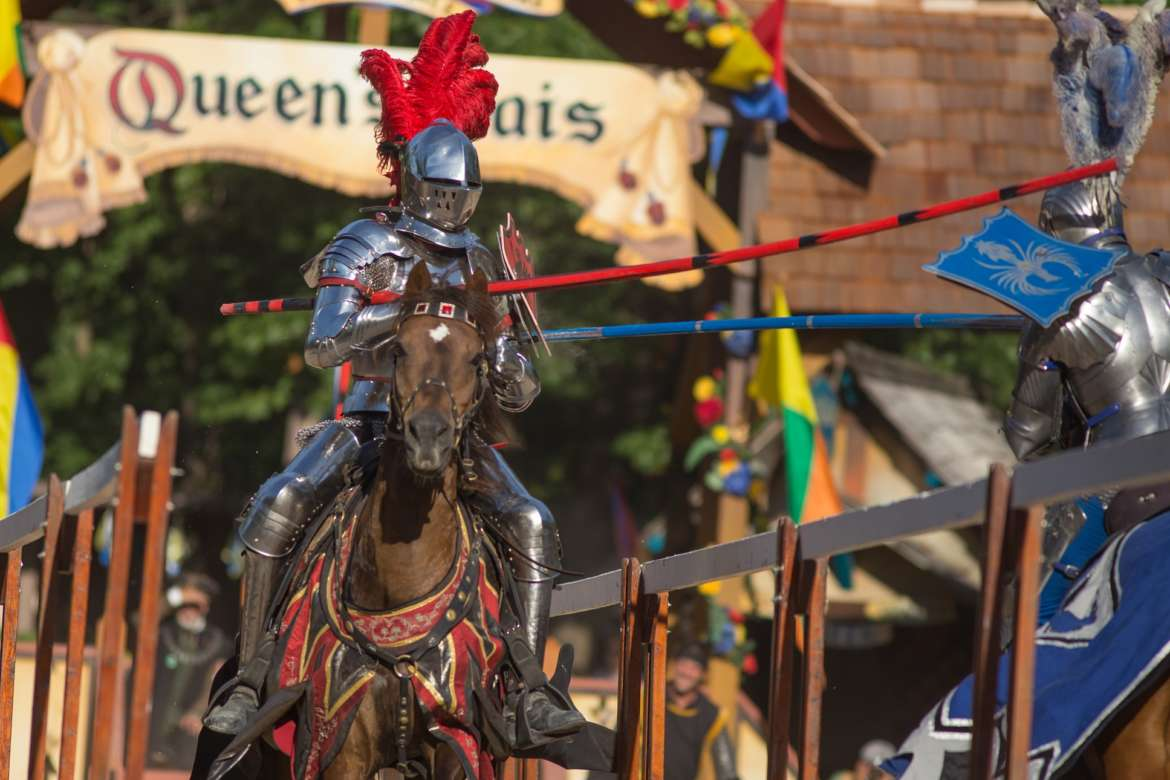 Travel Back to Medieval Times at the Bristol Renaissance Faire