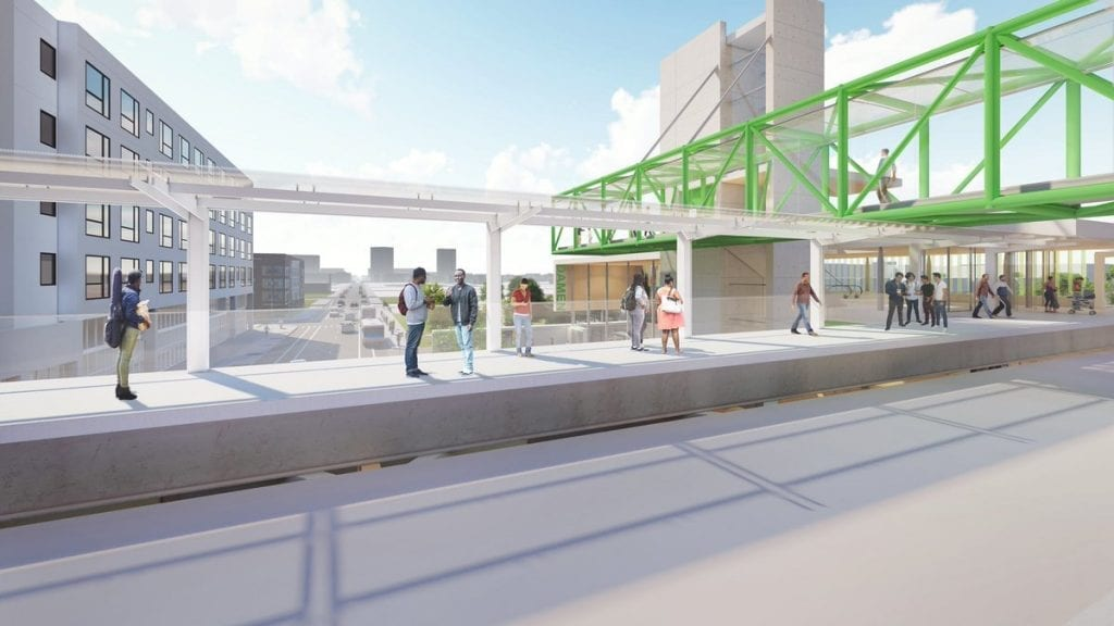 New Green Line Stop
