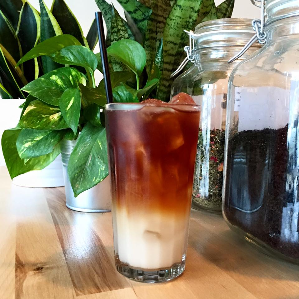 iced coffee horchata