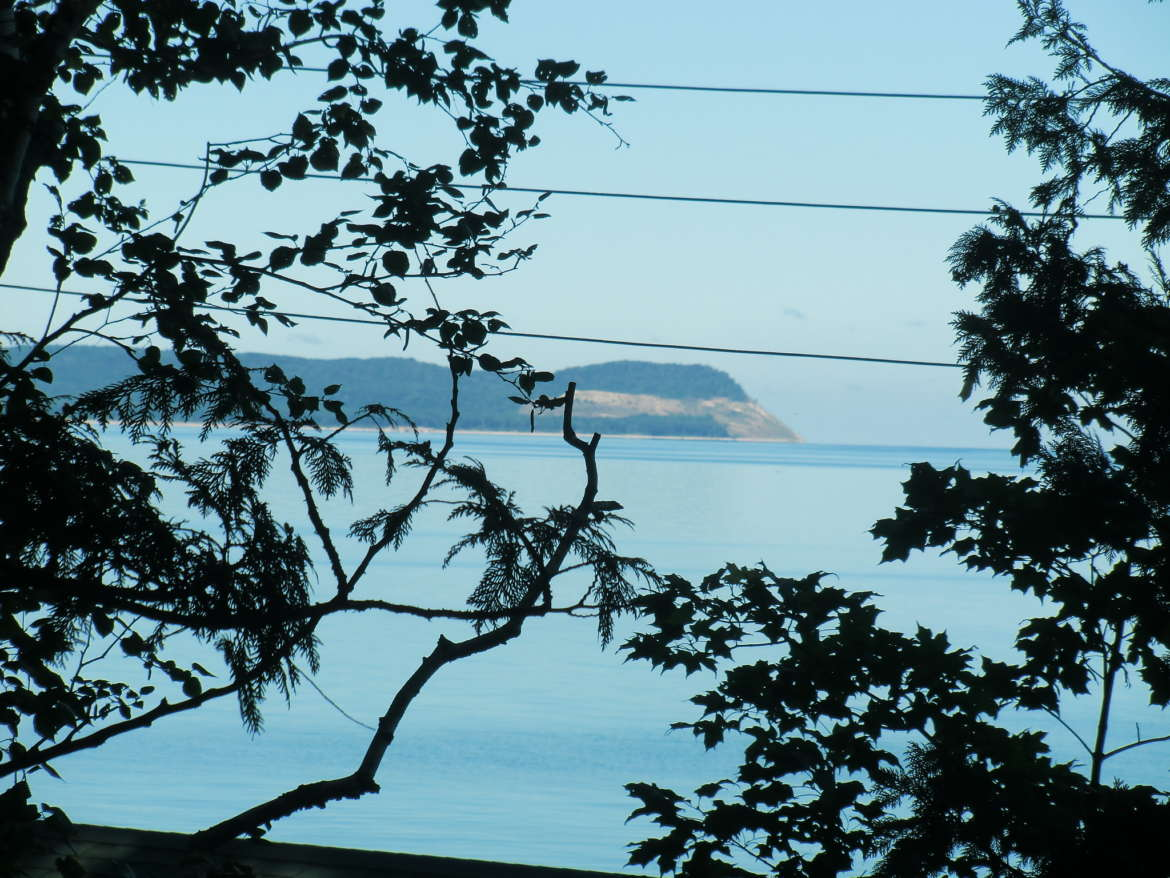 Calming views of Sleeping Bear Dunes on the Leelanau Peninsula