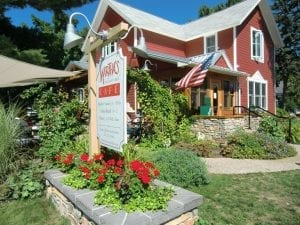 Martha's Leelanau Table is a great place to lunch in Suttons Bay.