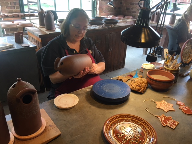 Watch pottery being made by a skillful artisan.