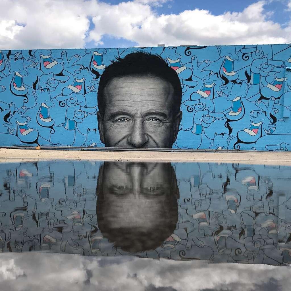 Robin Williams Mural