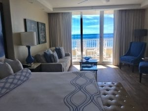 Deluxe room at The Lido Beach Resort. Photo by Mira Temkin.