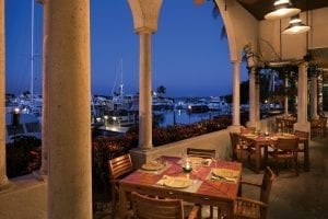Portofino Restaurante at the Resort at Longboat Key Club. Photo courtesy of Longboat Key Club.