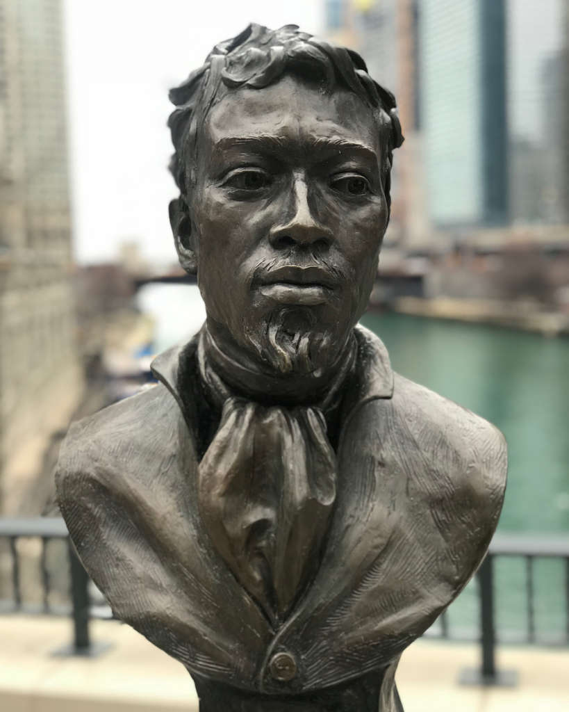 Jean Baptiste Pointe DuSable Statue