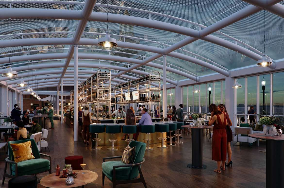 Offshore, the World's Largest Rooftop Bar, Open Now in