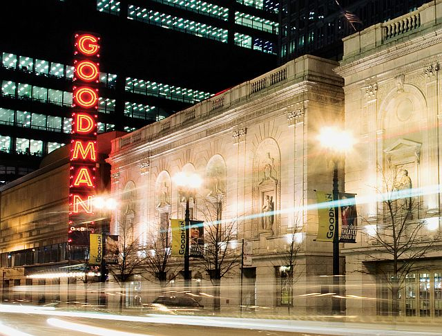 "Goodman Theatre's 'A Christmas Carol"" is just a block away from theWit. (Goodman Theatre photo)"