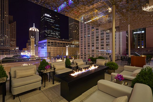Go to the Z Bar at the Peninsula before or after a show. (Photo by Neil John Burger)