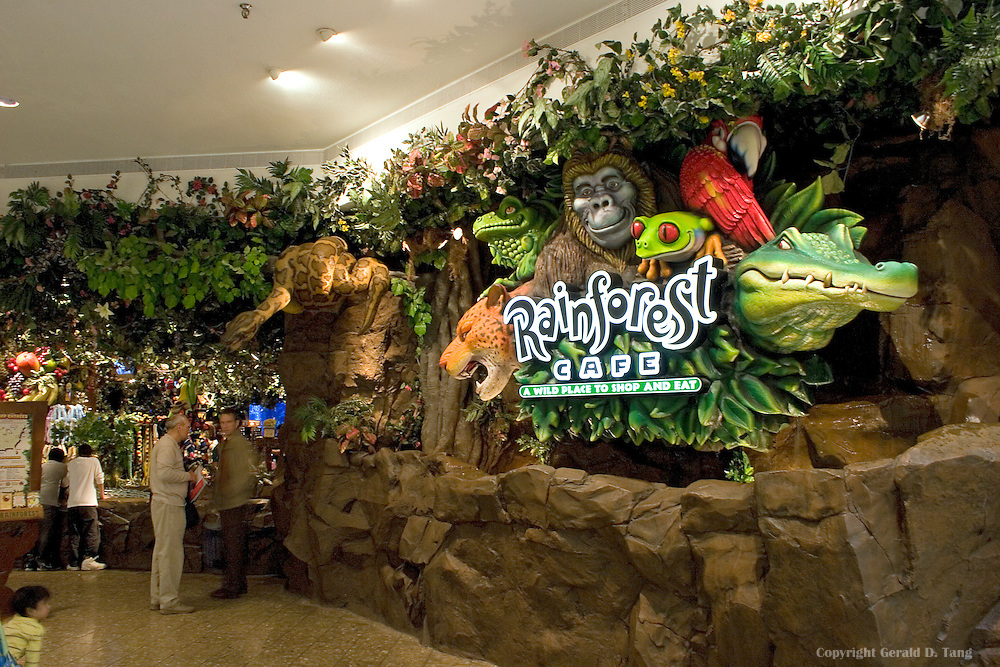 Rainforest Cafe Closes Woodfield Mall Location On January