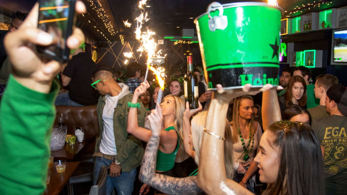 st. patrick's day bar parties