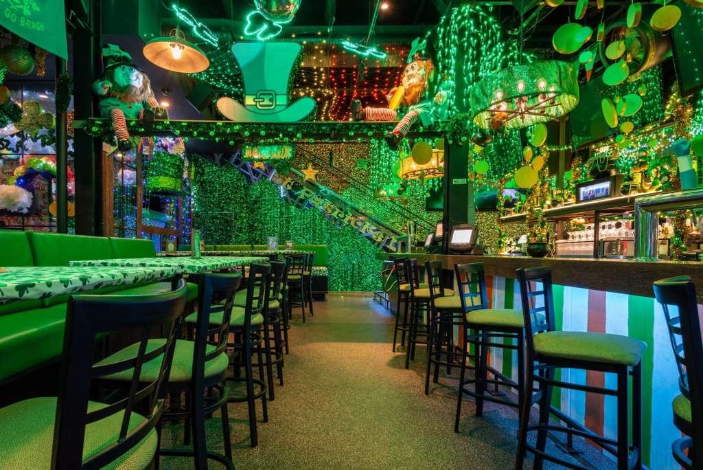 charm'd st. patrick's day bar