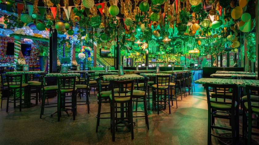 charm'd st. patrick's day bar