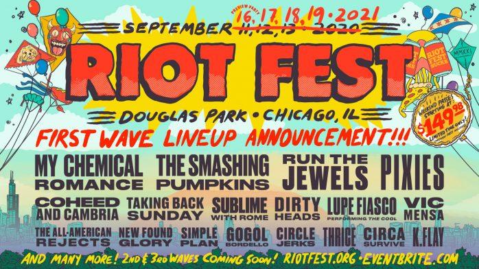 riot fest lineup 2021
