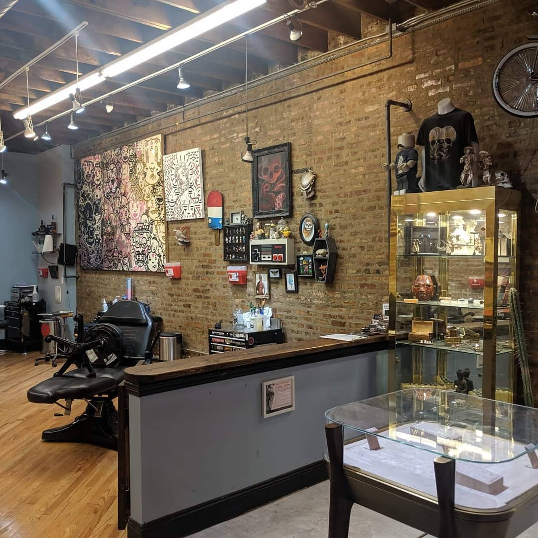 tattoo shops reopened