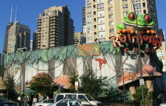 Rainforest Cafe Chicago
