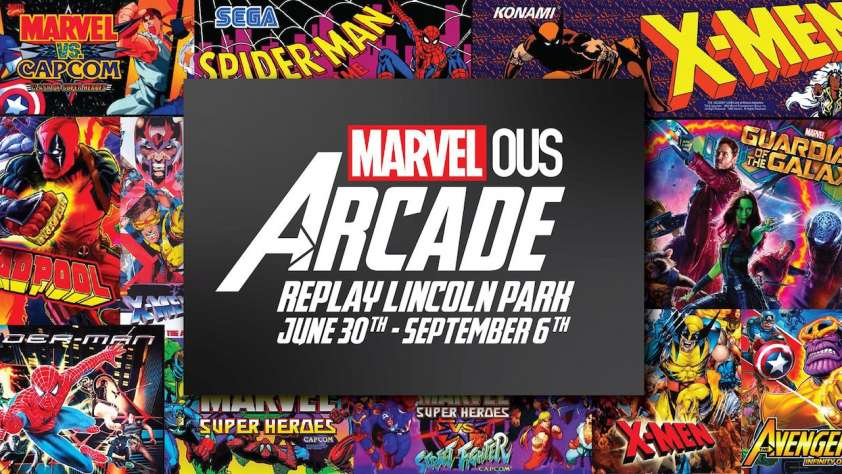 Marvel Replay Lincoln Park