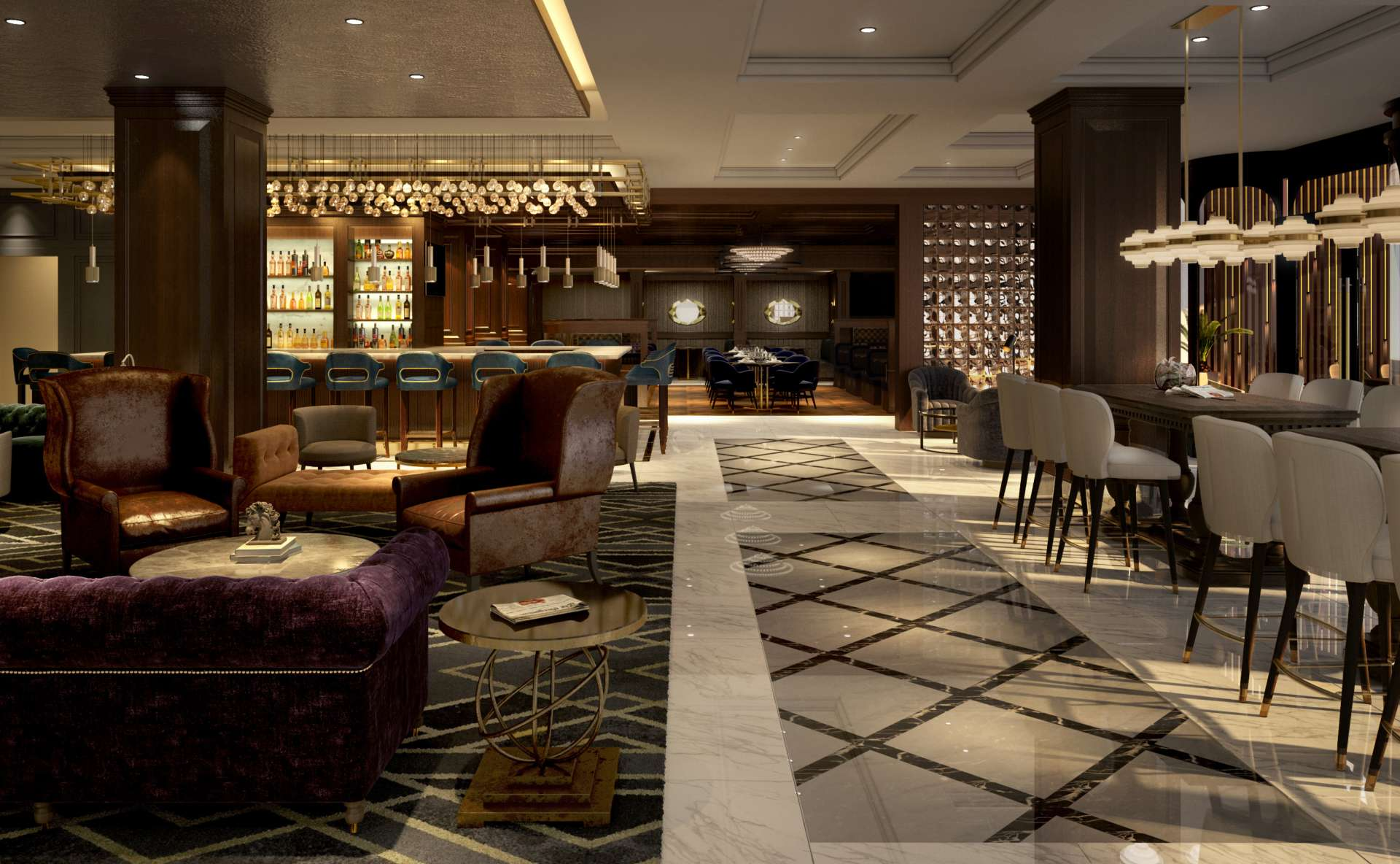 lasalle hotel Lobby Lounge