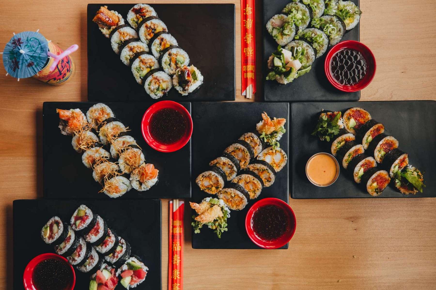 sushi san maki rolls