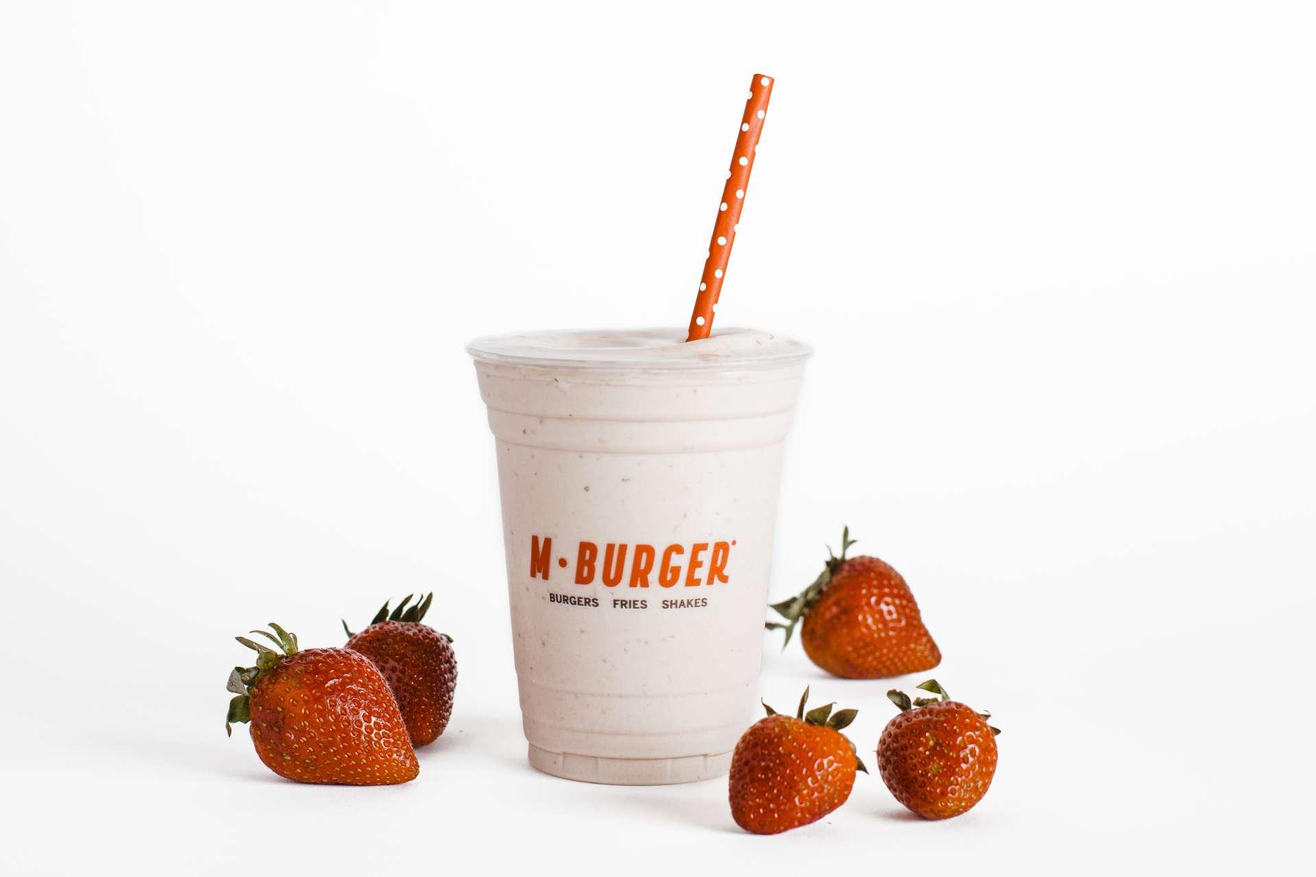 MBG Strawberry Milkshake