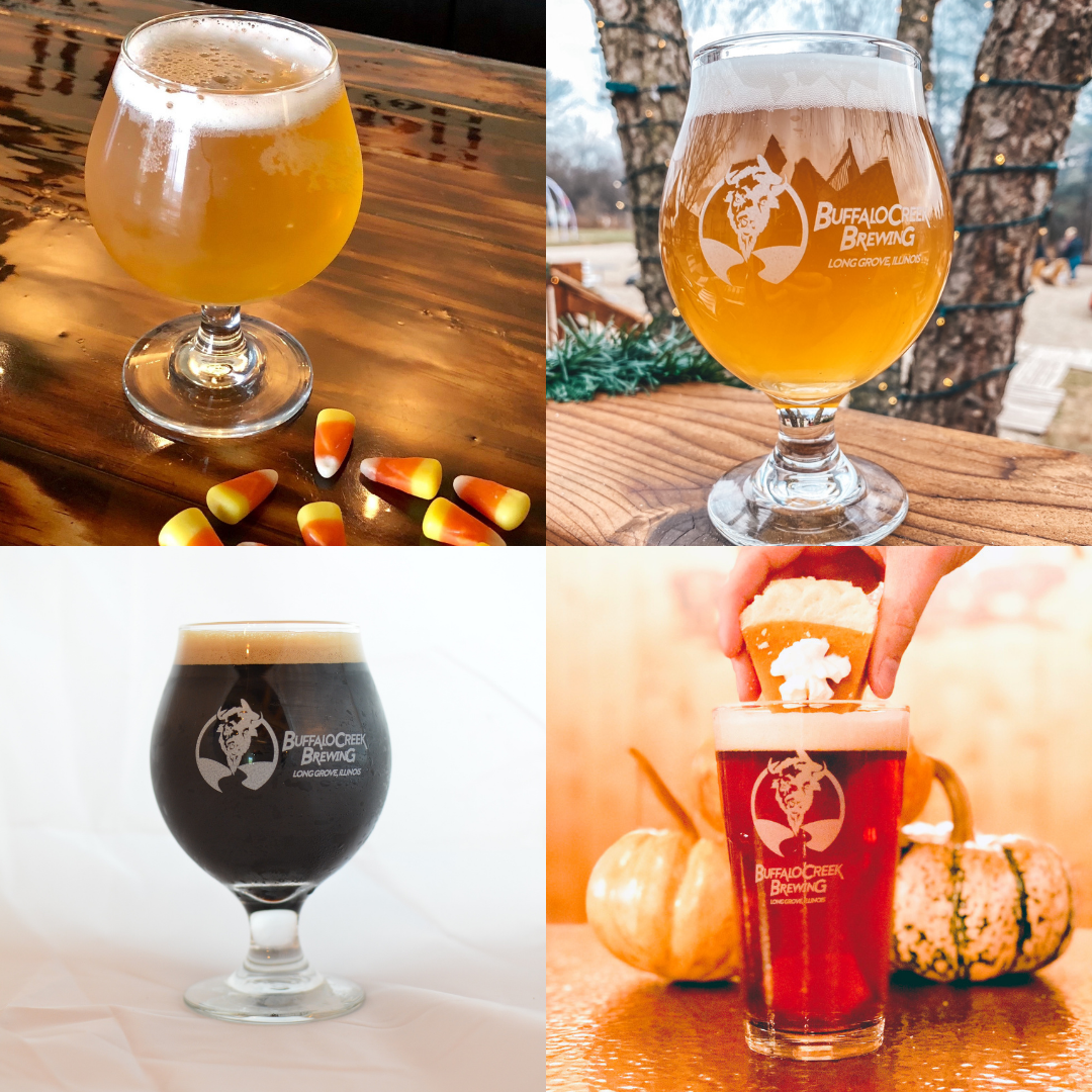 Fall inspired drinks and beers BCB