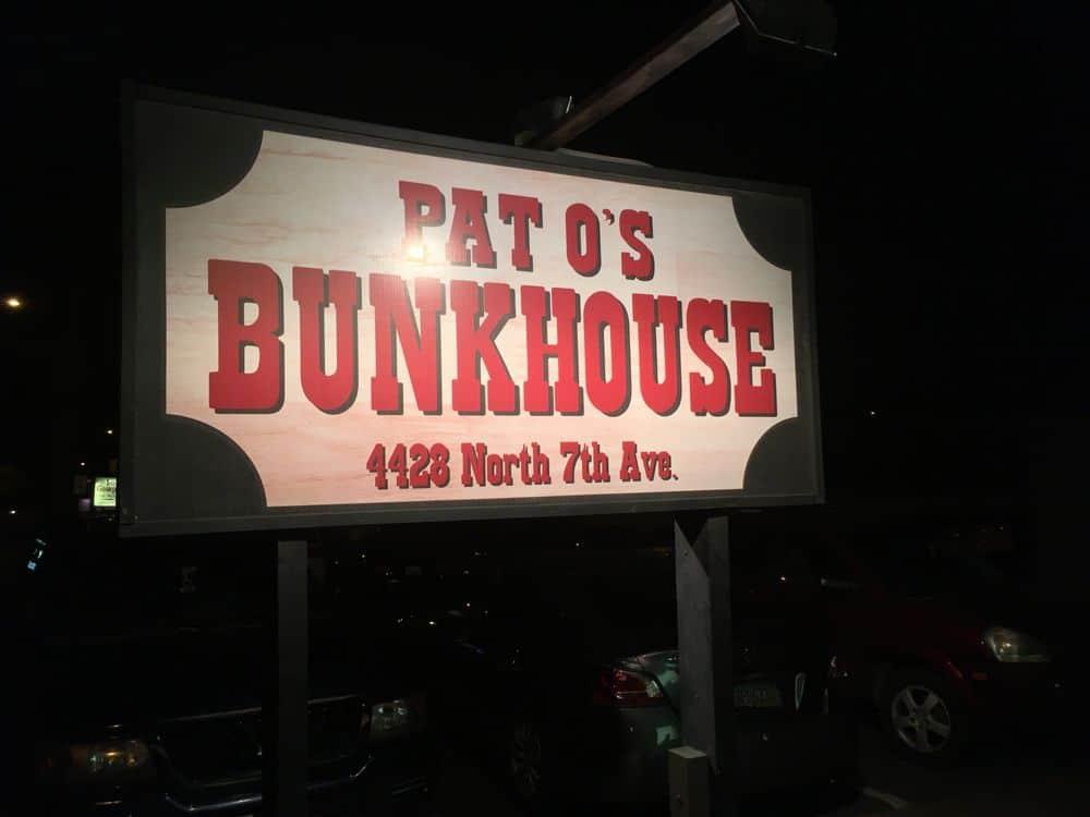 pat o' bunkhouse