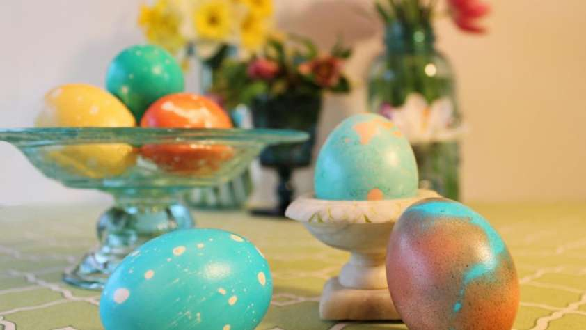 easter at home