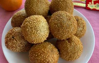 diy-chinese-desserts-sesame-ball