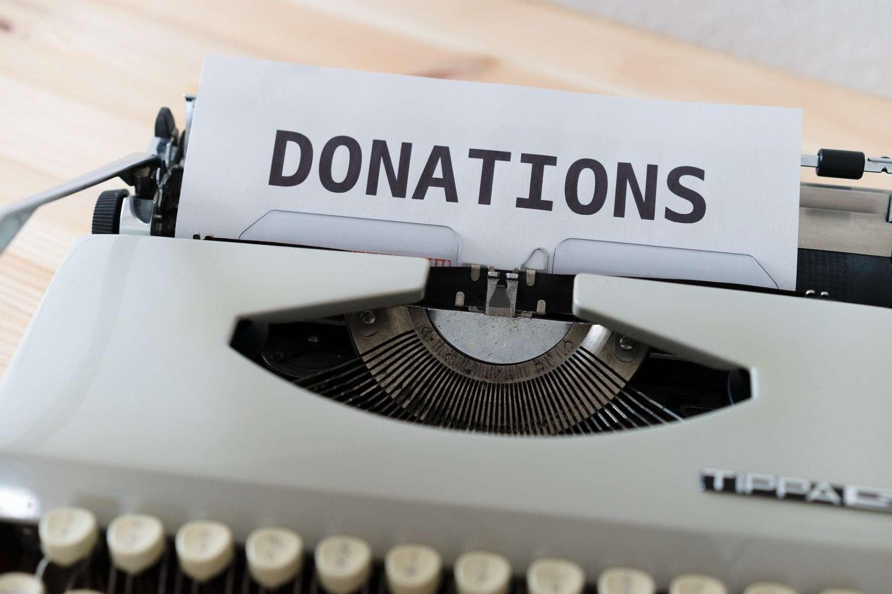 Donate Button Non-profit organizations