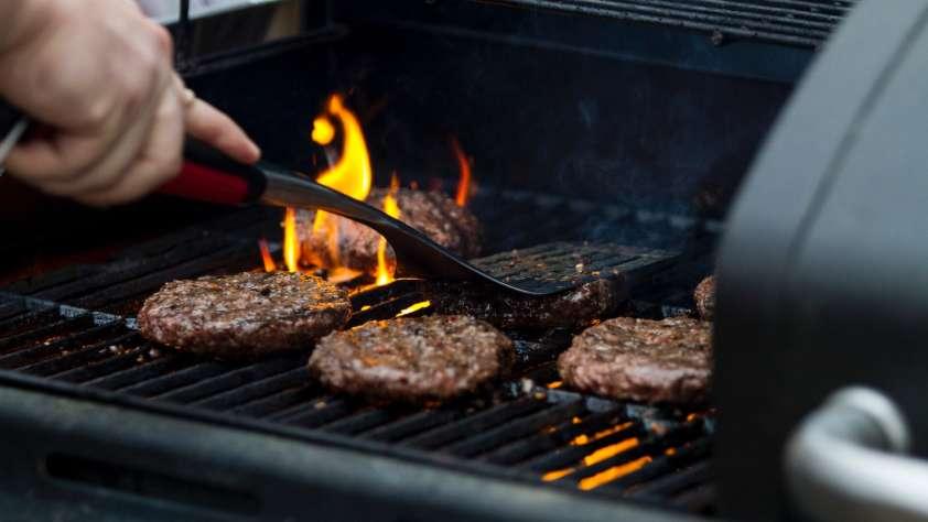 Summer Burger Grilling